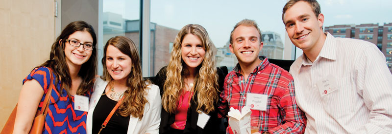 Young adults at IMPACT event